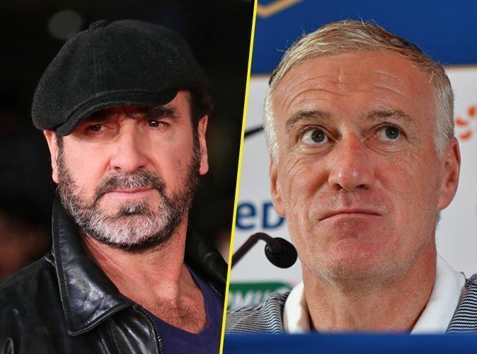 Eric Cantona and Didier Deschamps