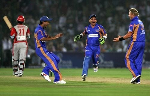 In 2008, Rajasthan Royals pulled off the tallest successful chase in IPL history.