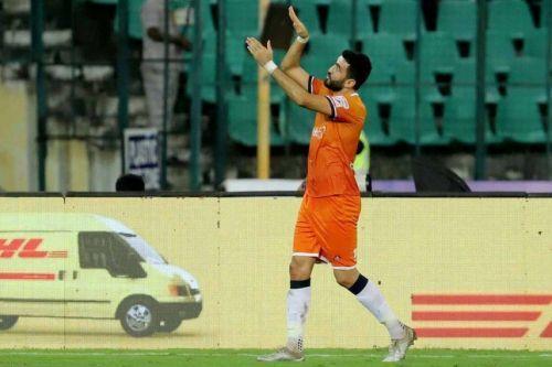 Jahouh seems to be on his way to Mumbai City FC