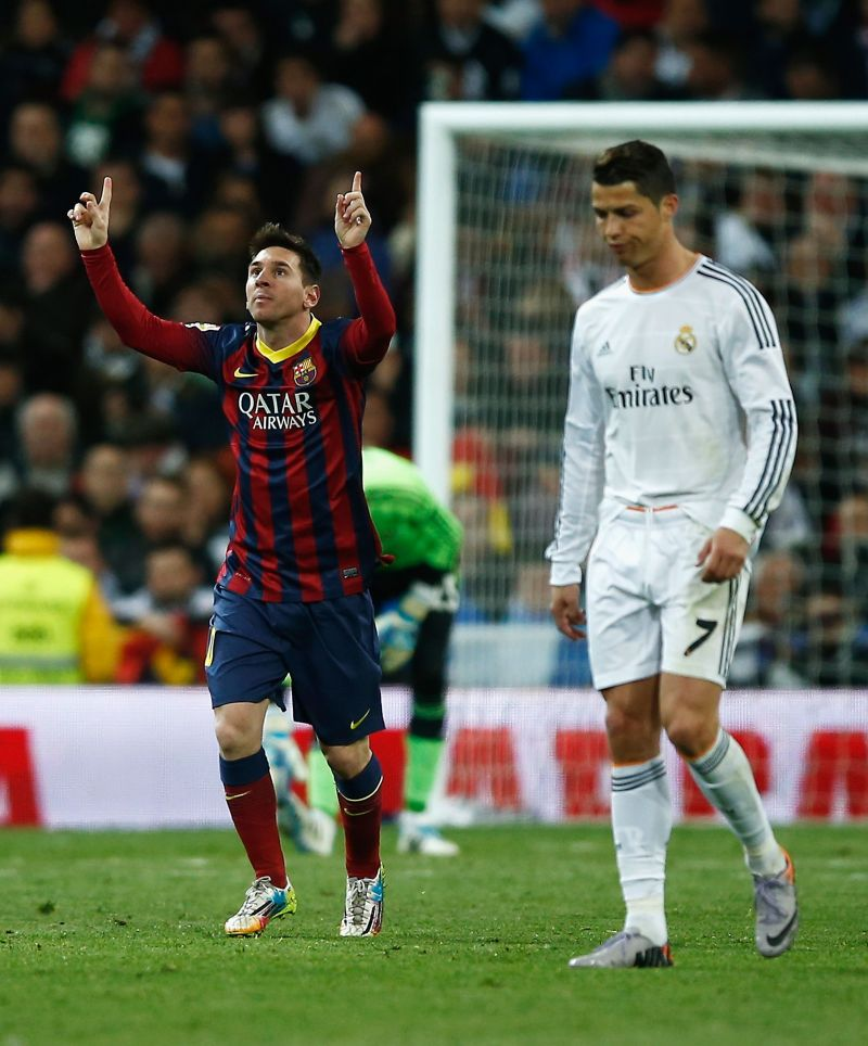 Lionel Messi and Cristiano Ronaldo faced each other several times over the years.