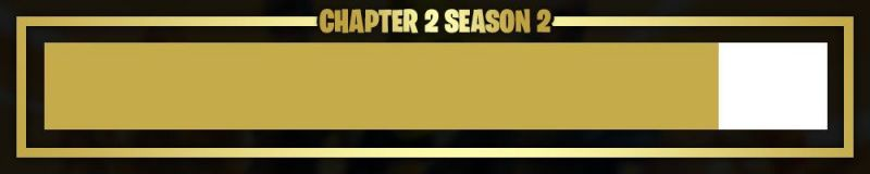 Chapter 2 Season 2 is 86% complete (Image Credits: HYPEX)