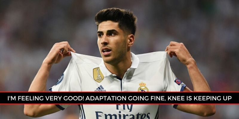 Asensio has revealed an encouraging update on his recovery from injury. (Picture source: Sportskeeda)