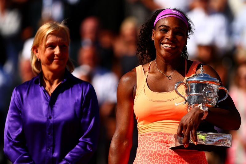 """This is an """"opportunity lost"""" for Serena Williams, says Navratilova"""