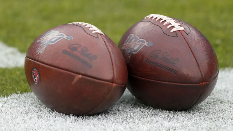 A pair of NFL footballs - cropped