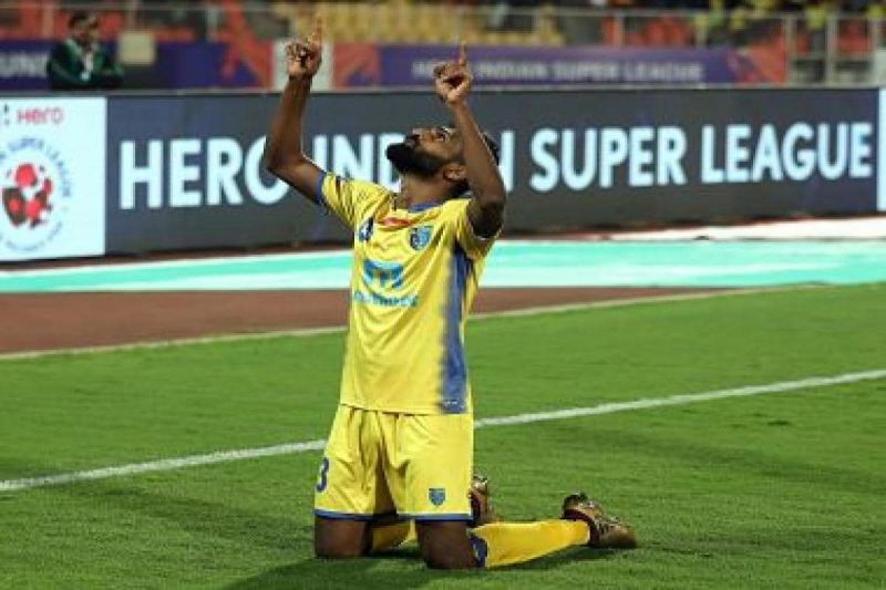 CK Vineeth was once the all-time leading goal-scorer at Kerala Blasters (Image credits: Firstpost)
