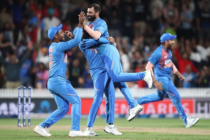 Mohammed Shami defended 9 runs in the last over against New Zealand