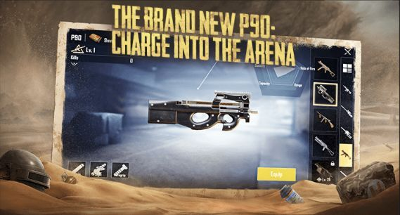 New P90 Weapon