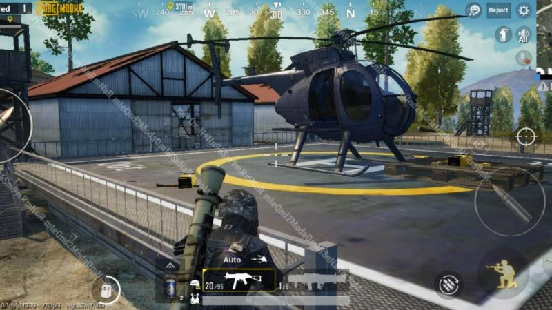 Helicopter in PUBG Mobile