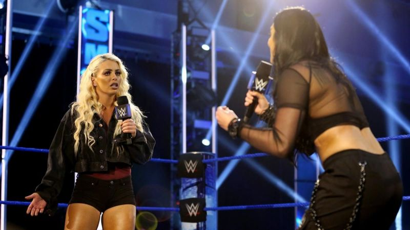 Mandy and Sonya were on fire in this segment
