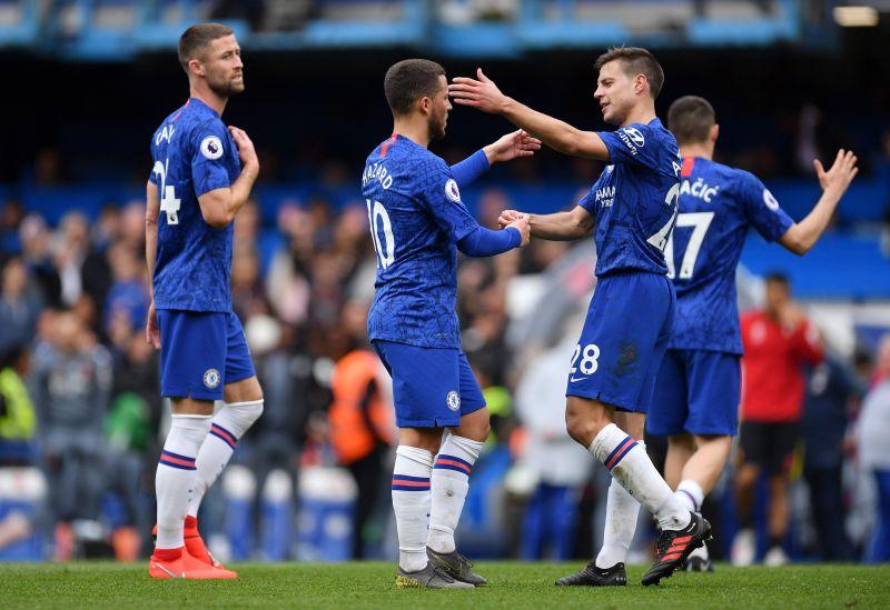 Hazard et Azpilicueta sont amis de leur séjour à Chelsea, avant qu'Eden ne soit parti pour le Real l'année dernière