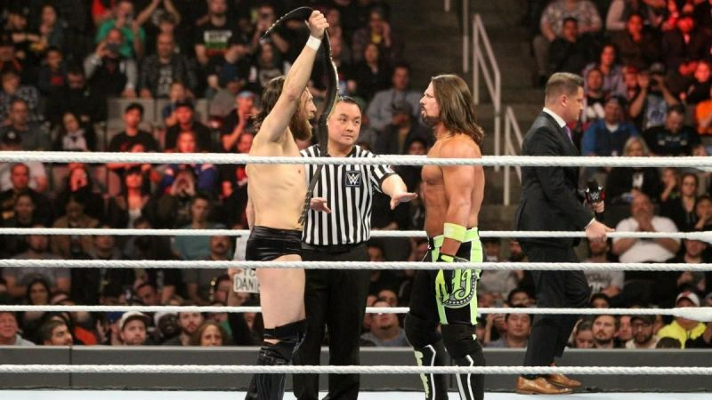 Styles and Bryan last feuded for the WWE Championship