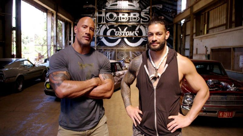 The Rock and Roman Reigns