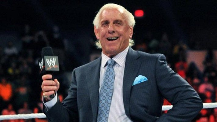 Ric Flair said he was ready for a match at WWE Crown Jewel (Image: WWE)