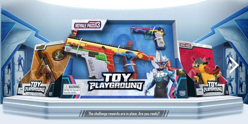Download PUBG Mobile Korea Season 13: Toy Playground