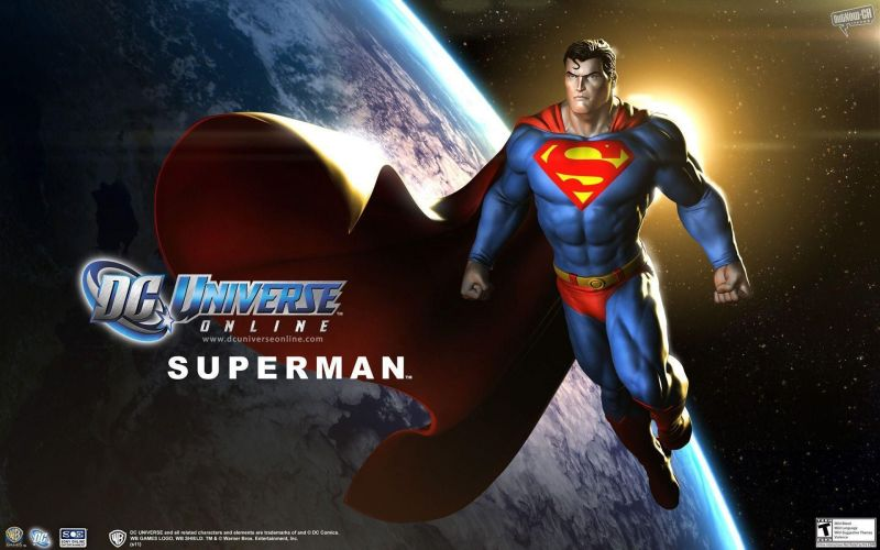 DC Universe Online (Image Credit: Wallpaper cave)