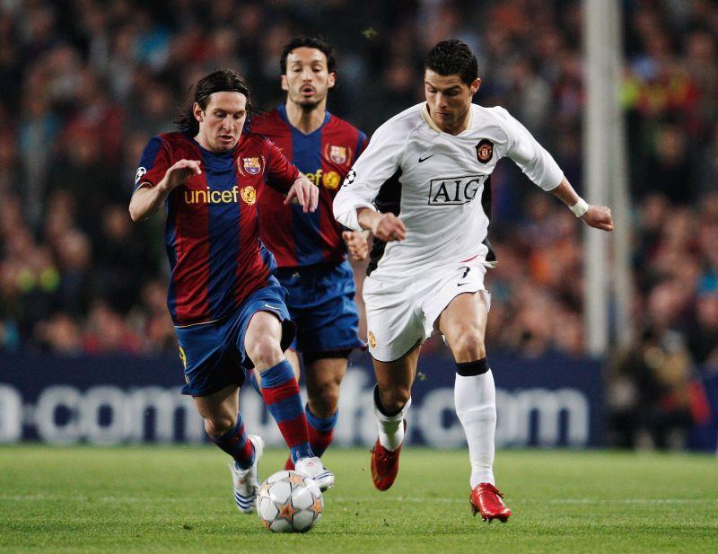 Barcelona v Manchester United - UEFA Champions League semi-final 2008