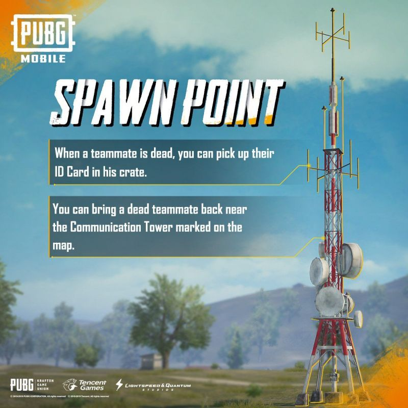 Features of Spawn Point