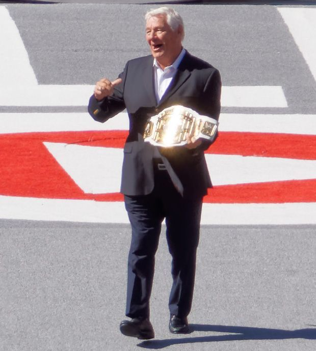 Pat Patterson was the first-ever Intercontinental Champion.