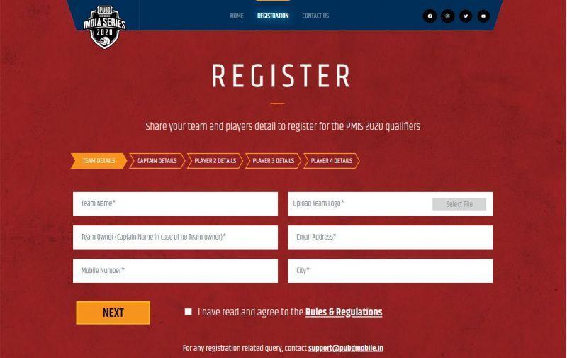 PMIS 2020 Registration