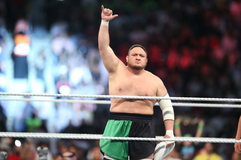 Samoa Joe is a 2-time United States Champion