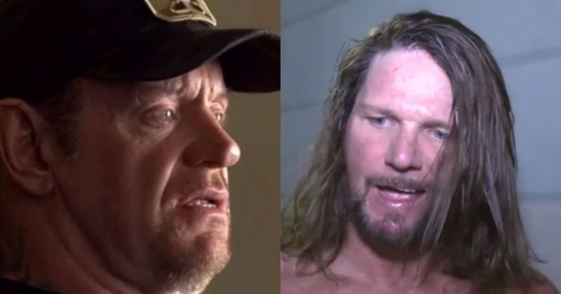 Undertaker and AJ Styles