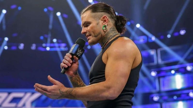 Jeff Hardy recently returned to SmackDown.