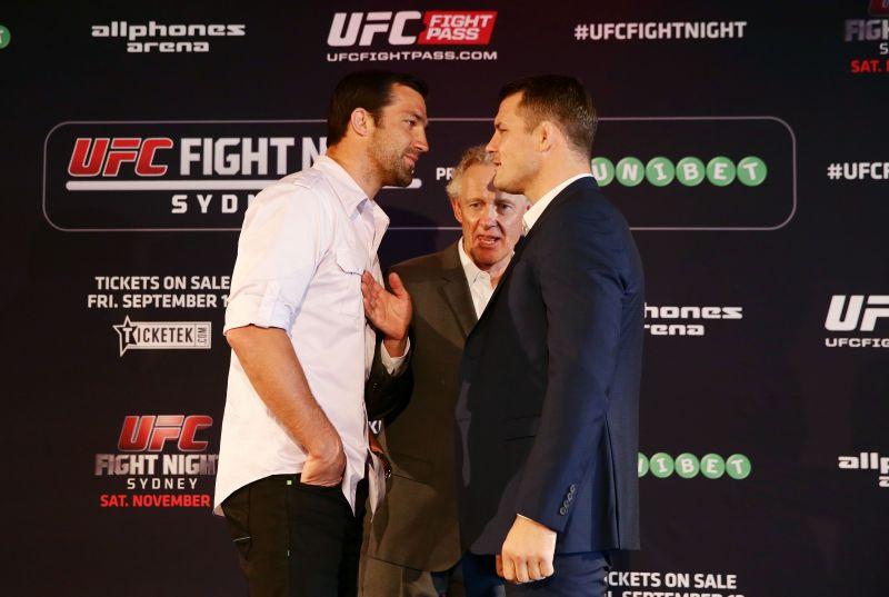 UFC Fight Night: Rockhold v Bisping Press Event