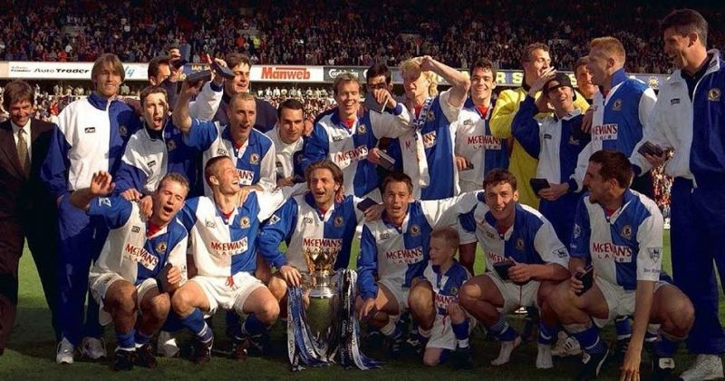 Blackburn clinched the Premier League trophy on the final day of a thrilling season