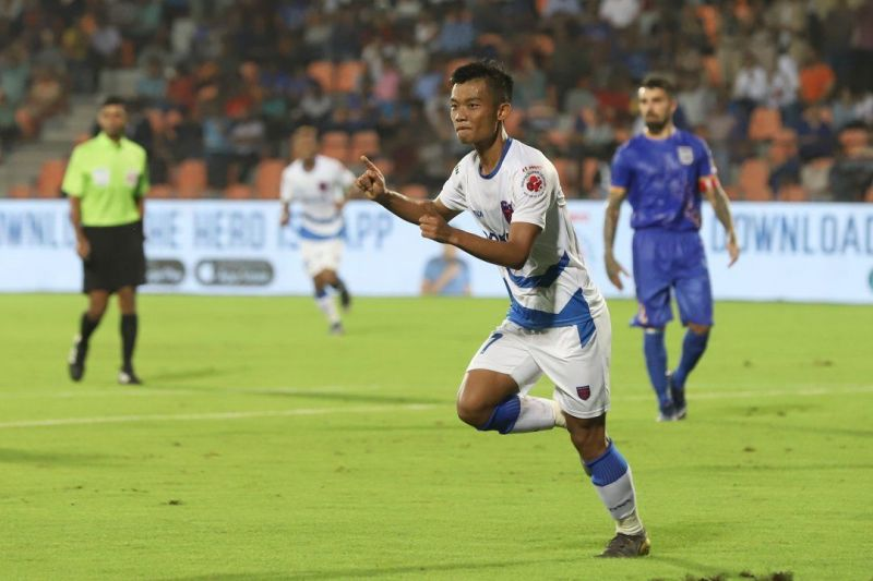 Jerry Mawihmingthanga was one of the bright sparks in Odisha FC