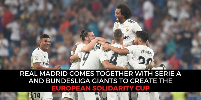 Real Madrid joins hand with European rivals to fight the coronavirus