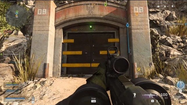 Bunkers have Yellow Bars