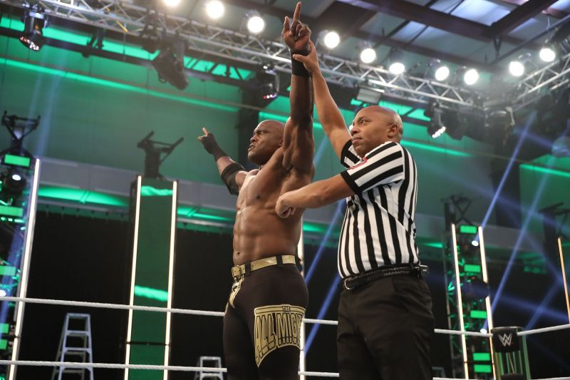 Bobby Lashley made short work out of R Truth