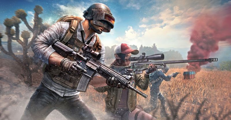PUBG Mobile published by Tencent Games.