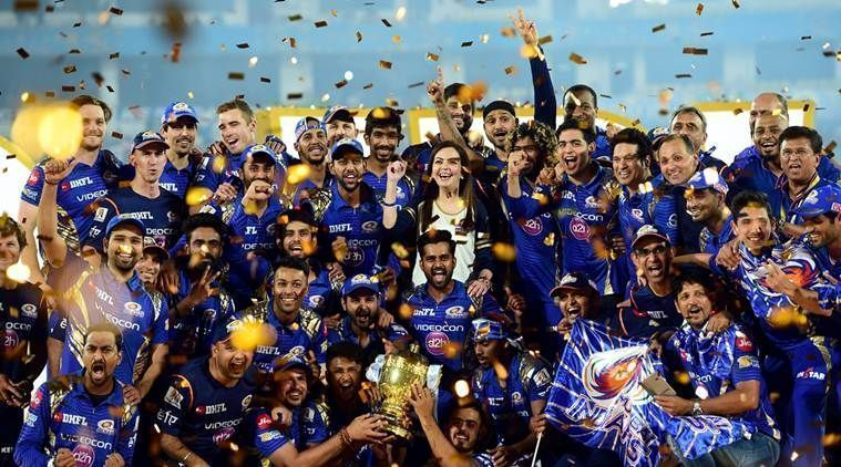 Mumbai Indians have won the IPL trophy on a record 4 occasions