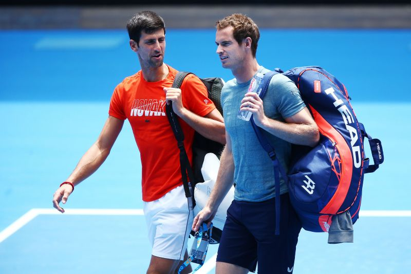 Andy Murray, Novak Djokovic and other players are slowly returning to the court