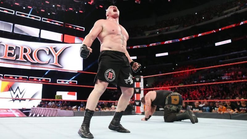 Brock Lesnar would be a welcome sight in a WWE ring right now.