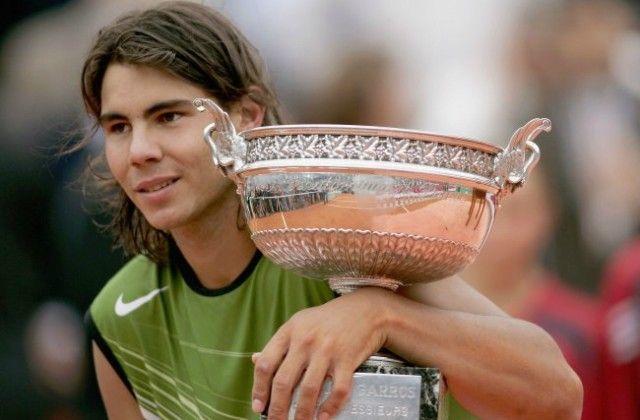 Rafael Nadal at Roland Garros 2005