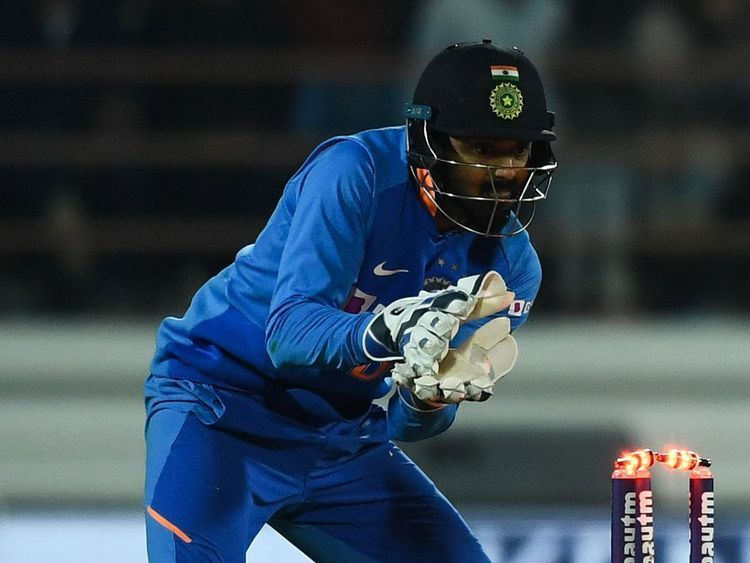 KL Rahul kept for the Indian cricket team during the New Zealand series