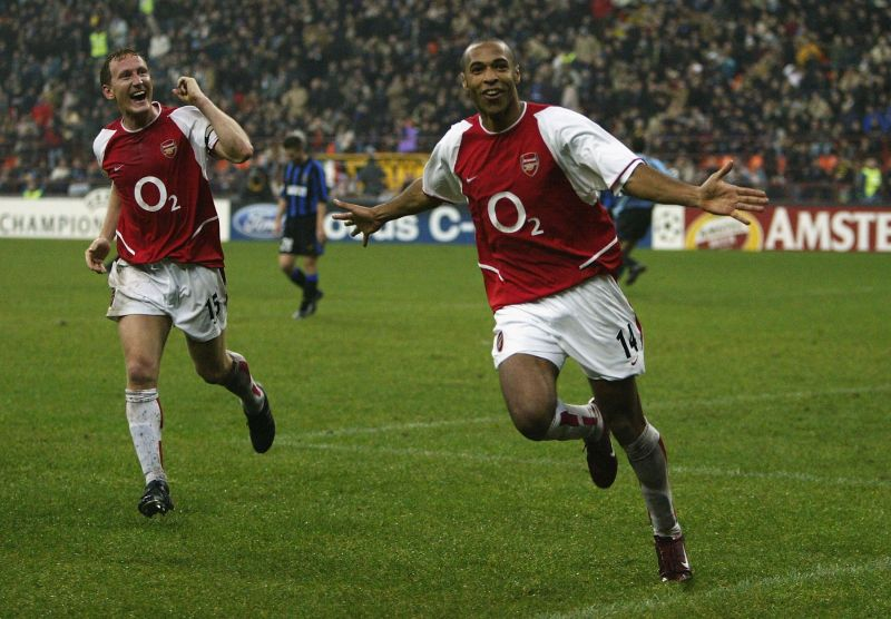 Thierry Henry was unstoppable in his prime