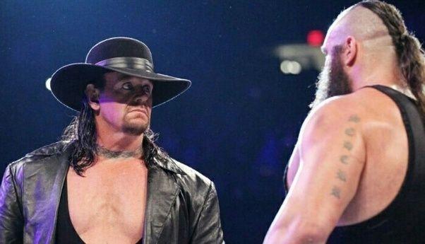 The Undertaker and Braun Strowman