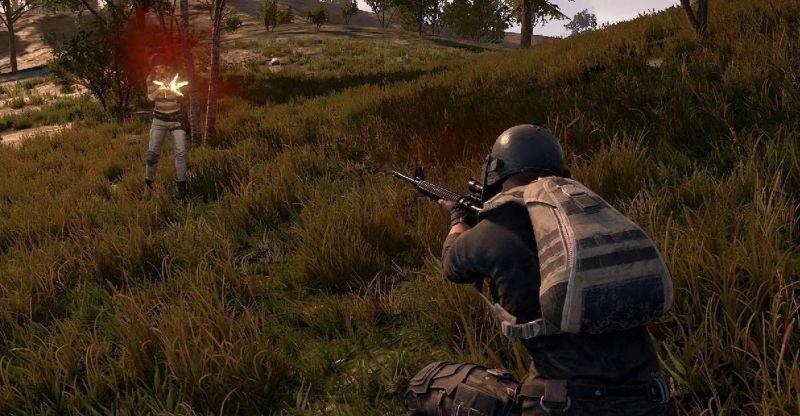 Bot Spoting a Player