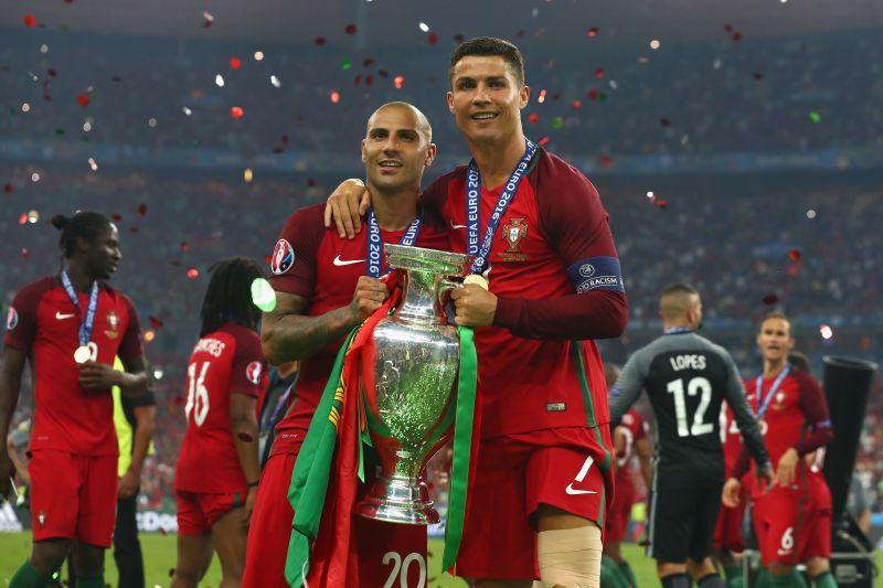 Cristiano Ronaldo and Ricardo Quaresma won Euro 2016 with Portugal.
