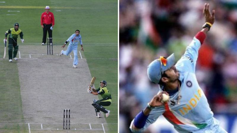 S Sreesanth took the final catch of the 2007 World T20