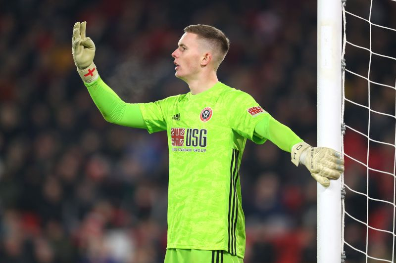 Dean Henderson is the favourite to be between the sticks for England at Euro 2020