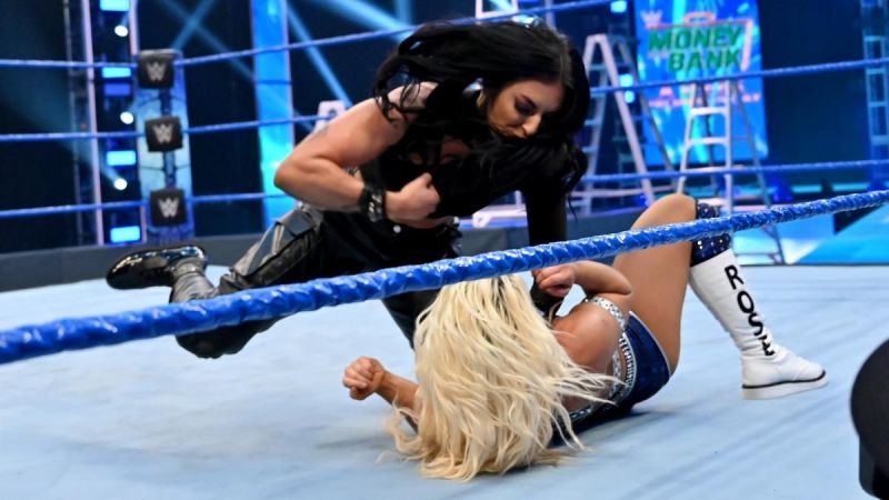 Mandy Rose found herself laid out on this week