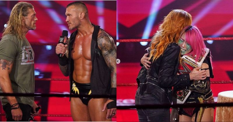 It was an emotional night on RAW