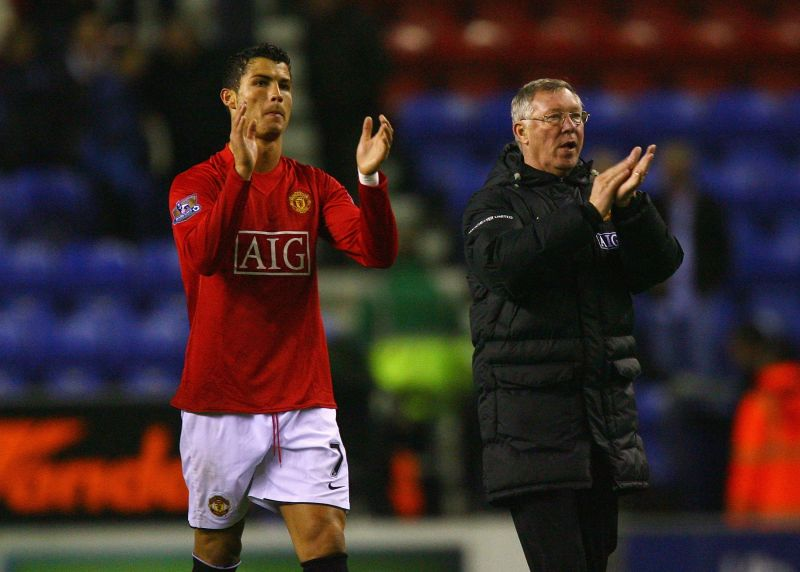 Cristiano Ronaldo spent nine years in England with Manchester United