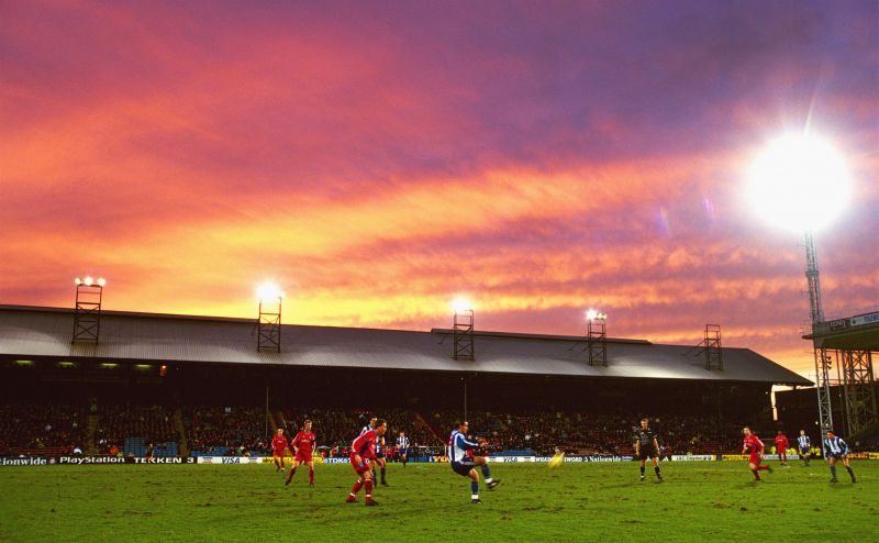 Selhurst Park was shared between Crystal Palace and Wimbledon back in 1992/93.