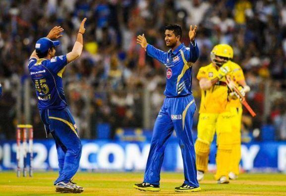 Pragyan Ojha played under Rohit Sharma at the Mumbai Indians