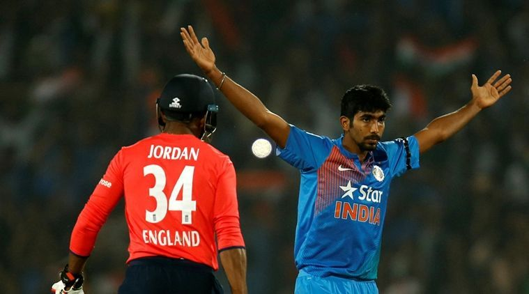 Jasprit Bumrah defended gave away just two runs and took two wickets in his over